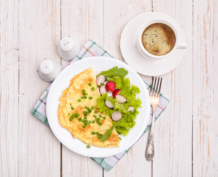 egg omelette photo