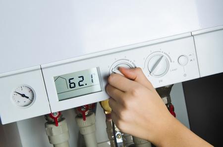 boiler: house heating boiler