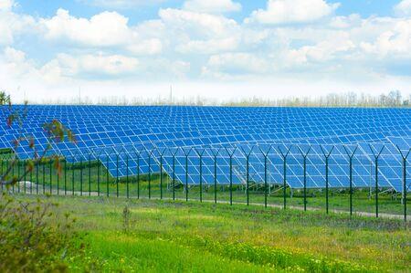solar farm: Solar farm.