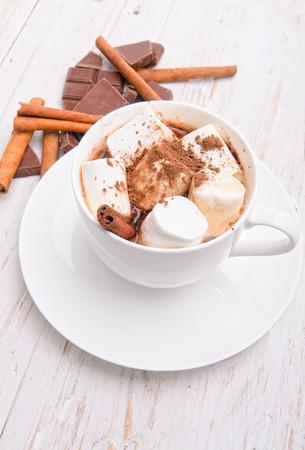 hot cocoa: hot cocoa