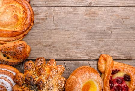 aliments: produits alimentaires de boulangerie Banque d'images