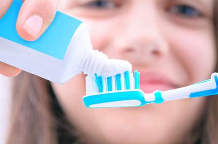 toothbrushing: brushing teeth