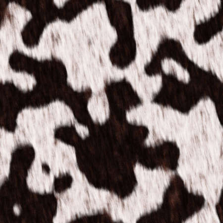 fell: The texture white and black cow fell,  suits for duplication of the background, illustration Stock Photo