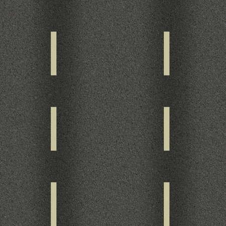 テクスチャの道路、道路標示、アスファルト、背景、イラストの重複のためのスーツ 写真素材