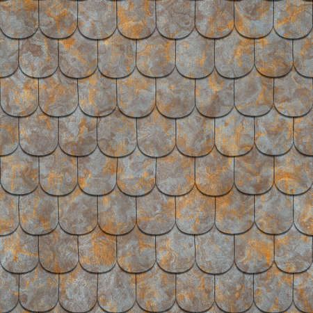 duplication: rusty metallic tile texture,  suits for duplication of the background, illustration