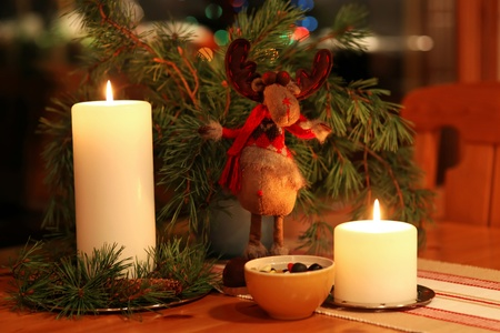 stillife: Stillife with candle Stock Photo