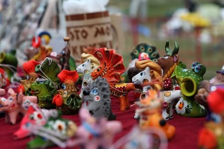 animal figurines: Whistles