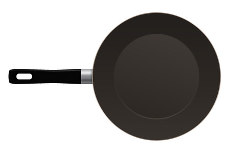 Frying pan Illustration