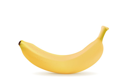 icon: Banana icon. Illustration