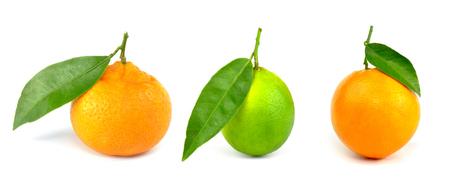 mandarine: Mandarine, lime, orange