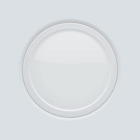 Round button pushed. On gray interface background