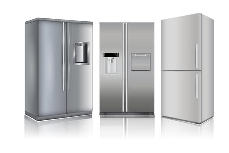Side By Side Kühlschrank Farbig : Grifflos küche side by side kühlschrank wohnconcepte