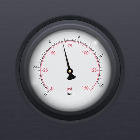 Manómetro industrial