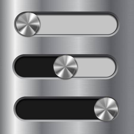 Slider toggle switch. Interface button