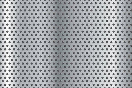 perforated: Metal background. Perforated steel texture.