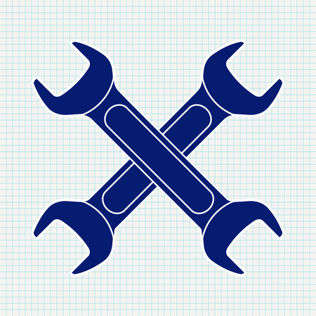 hardware: Crossed wrench icon.