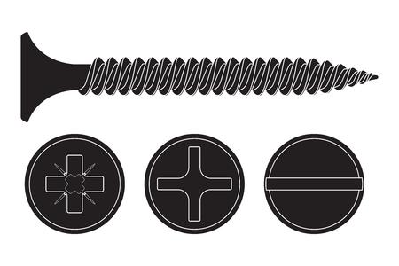 Wood screw icon