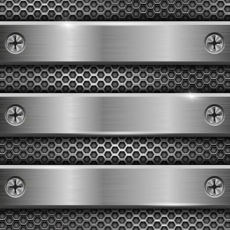 Black and grey steel long plates images