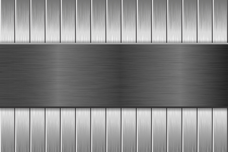 Metal brushed texture with vertical brushed planks