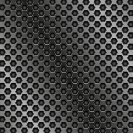 Metal perforated texture