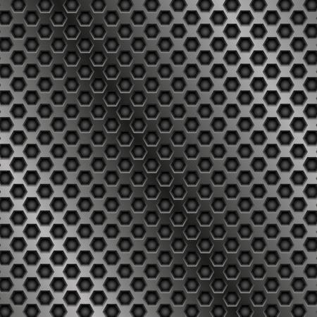 Metal perforated texture