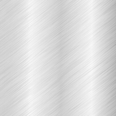 Brushed metal background with diagonal scratches