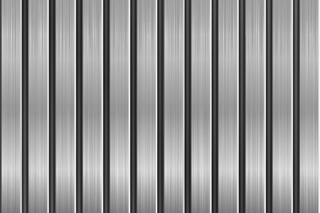 Metal texture with vertical brushed planks