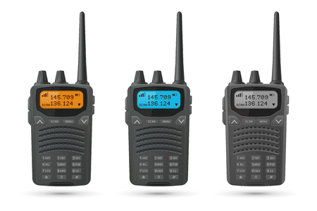 Radio transceivers. Set of 3d models