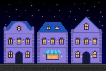 Houses Ilustrace