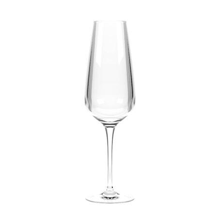 Wine glass. 3d rendering illustration