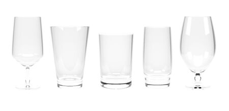 Water glasses. Set