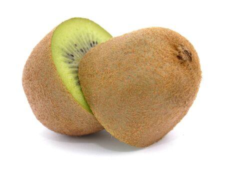 Kiwi cut in halves