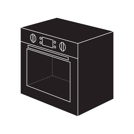 Electric oven icon