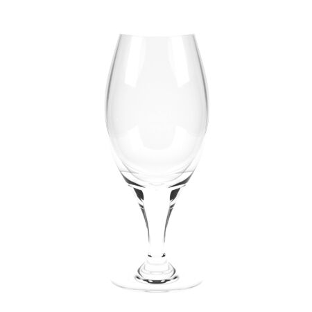 Beer glass. 3d rendering illustration isolated on white background