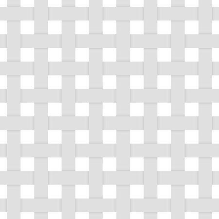 3d seamless pattern. Gray woven fibers