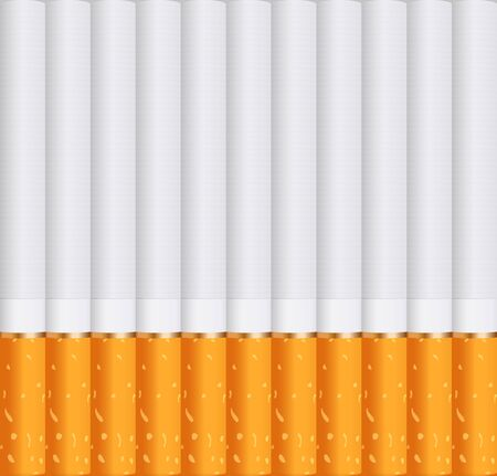 Cigarettes. Soking background