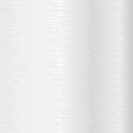 Steel scratched metal background. Vector 3d illustration