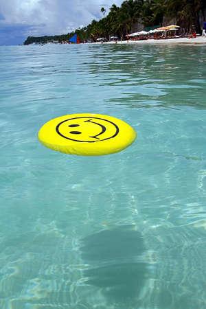 smile of a joke at sea photo