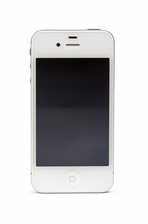 New Apple iPhone 4S, white model, close image