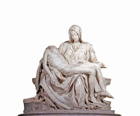 madonna: Pieta by Michelangelo Editorial