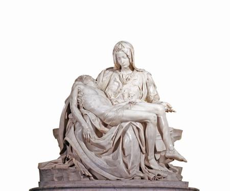 Pieta de Miguel Ángel Foto de archivo - 13512343