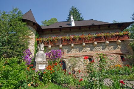 Moldovita monastery in Moldavia, Romania