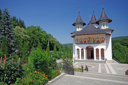 New orthodox church at Sihastria monastery, Romania