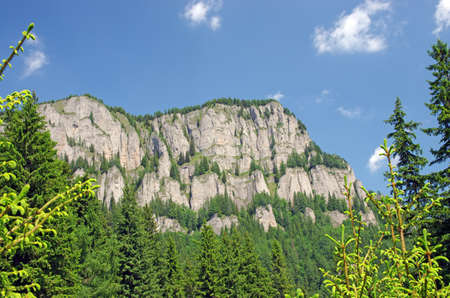 Rocky mountain landscape in Romania (Ceahlau mountain) Stock Photo - 13706120