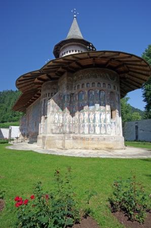 Voronet Monastery in Romania