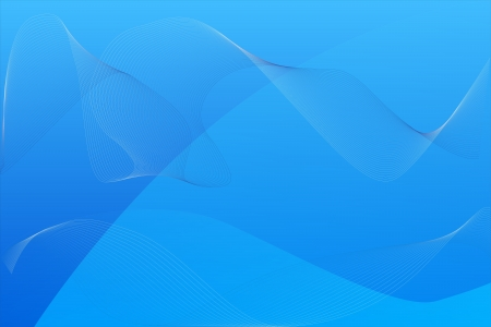 A blue wave background design as wallpaper