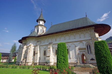 Putna Monastery in Bucovina, built by Stephen the Great