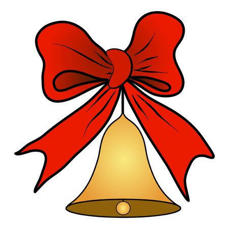 Christmas decoration illustration, hand drawn Ilustracja