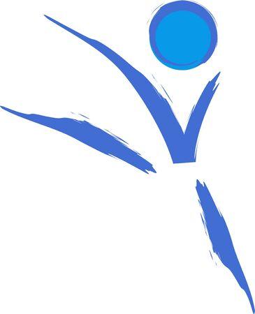 Gymnast symbol