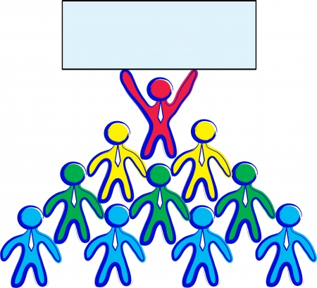 Workgroup (pyramid scheme) with a empty message